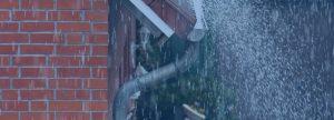 dakgoot regen