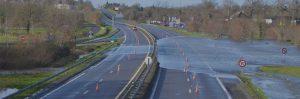 Wateroverlast snelweg