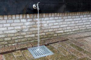 infiltratieput hydroblob resultaat