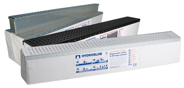 De Hydroblob lijngoten in drie varianten: GZ, VS, en Slimline